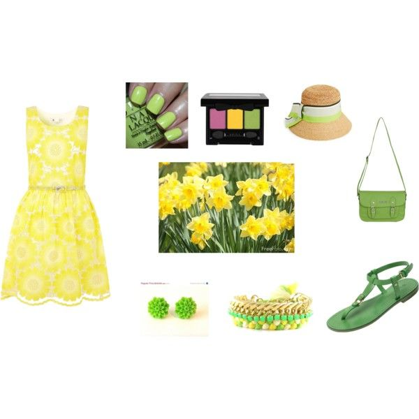 """Daffodils Style"" by balsamoirene on Polyvore"