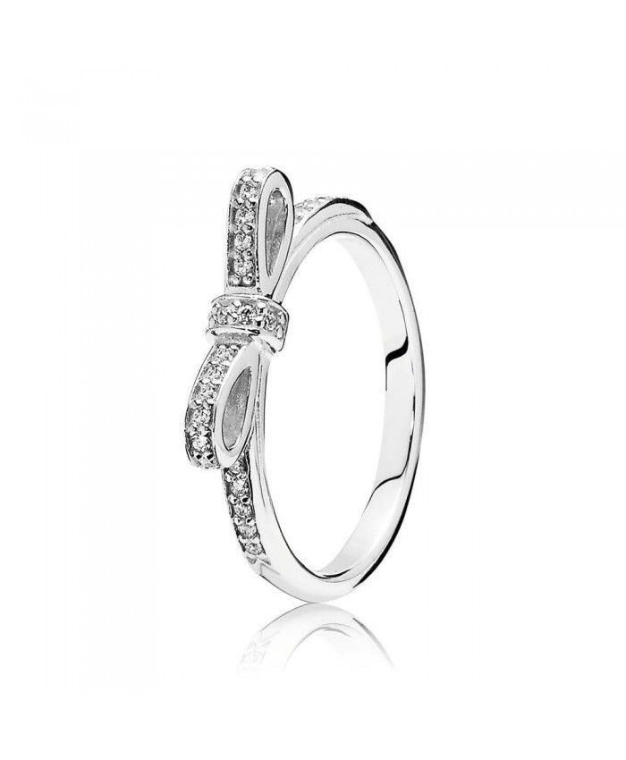 PANDORA Delicate Bow Ring Buy our products. Will get a generous gift.