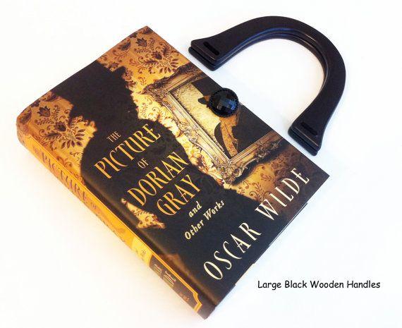 The Picture of Dorian Gray Book Purse - Oscar Wilde Book Purse - Irish Literary Gift