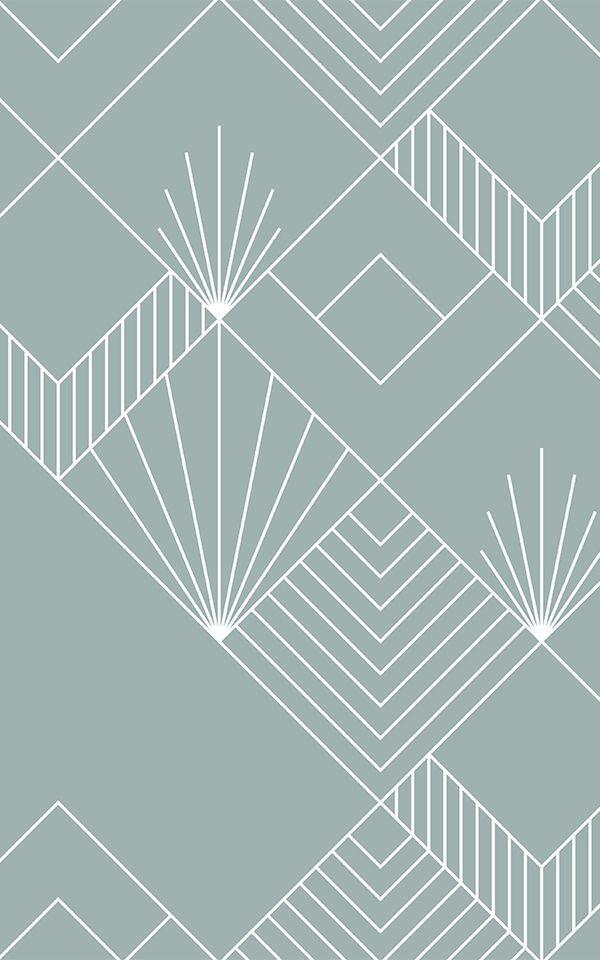 Art Deco Patterns Squares