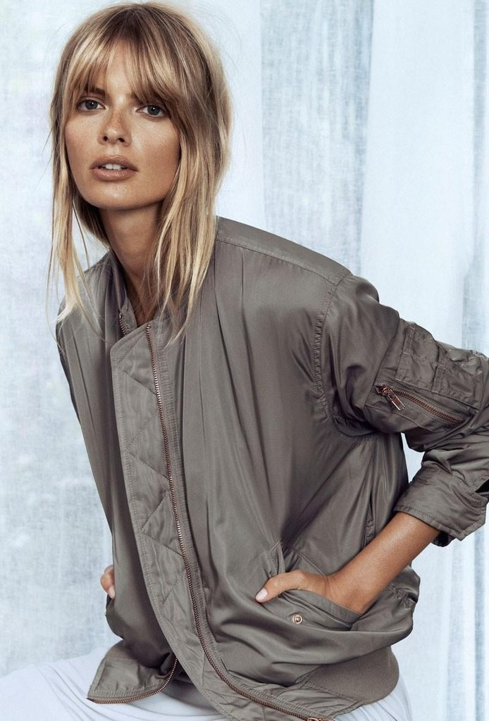 Filippa K Spring campaign 2013 Julia Stegner photographed by Lachlan Bailey.