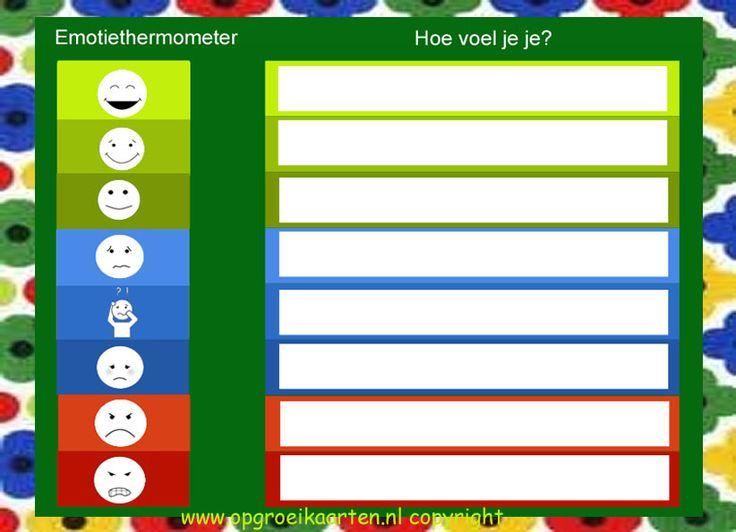 Emotiethermometer - gratisbeloningskaart.nl