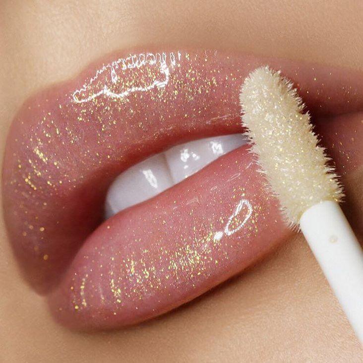 Patmcgrathreal Gold Allure Lips Claremacmua Glitter Lipstick