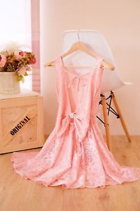 Peach lace dress peach dress bridesmaid dress backless peach dres vintage dress     eBay