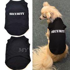 Pet Dog Cat Summer Clothes T Shirt Puppy Cute Cotton Vest Coat Apparel Costumes