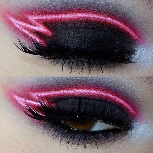 WEBSTA @ kinashen - This eye makeup aww