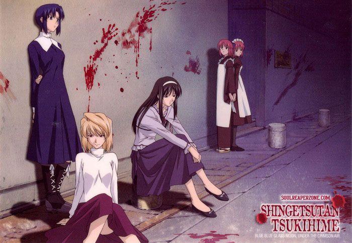 Shingetsutan Tsukihime Uncensored DVD   480p 45MB   720p 75MB MKV  #ShingetsutanTsukihime  #Soulreaperzone  #Anime