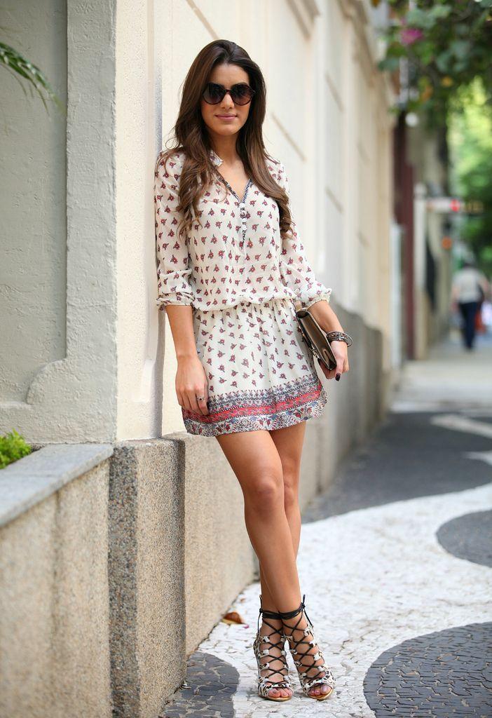 Mangas também são bem vindas no verão! Faça o modelo com tecidos finos e frescos.