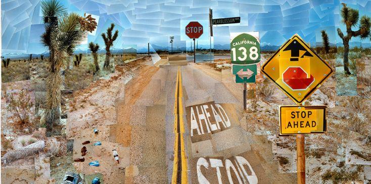 Pearblossom Highway, 11-18 April 1986. David Hockney.