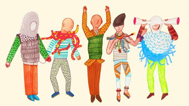 身に着けることで様々な感覚を高め、研ぎ澄ます衣装・装飾品『Sense-Wear』(Caravan) #Art #Design