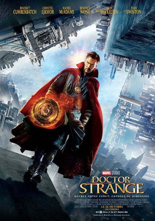 Doctor Strange (US, 2016) A brilliant, arrogant surgeon whose hands are irreparably injured goes to Nepal seeking alternative healing and learns mystical martial arts and becomes the mythical Marvel megastar of the multiverse, Dr Strange. Benedict Cumberbatch and Tilda Swinton are perfectly cast in this enthralling action comic-strip brought to 3D life. Be sure to stay to the very end of the end, until the screen goes black!!  3.7 stars