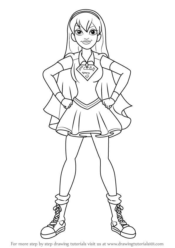 Resultado de imagem para draw+DC Super Hero Girls ...