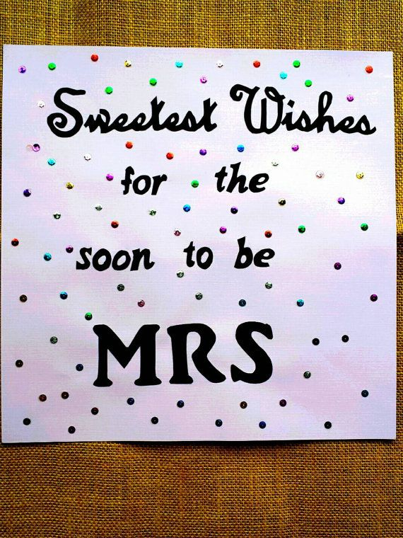 Sweetest Wishes Sign / Bridal Shower Sign / by BootsAndDirtRoads