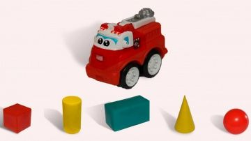 """Пожарная Машина и геометрические фигуры. Развивающее видео для детей. http://video-kid.com/10892-pozharnaja-mashina-i-geometricheskie-figury-razvivayuschee-video-dlja-detei.html  Любите мультфильмы про пожарные машины? Тогда посмотрите развивающее видео для детей, где пожарная машина изучает геометрические фигуры: куб, цилиндр, параллелепипед, конус, шар. Смотрите другие мультфильмы про пожарную машину (""""Игрушечные Машинки. Учим Цифры."""" и """"Игрушечные Машинки. Учим Цвета"""") на нашем детском…"""
