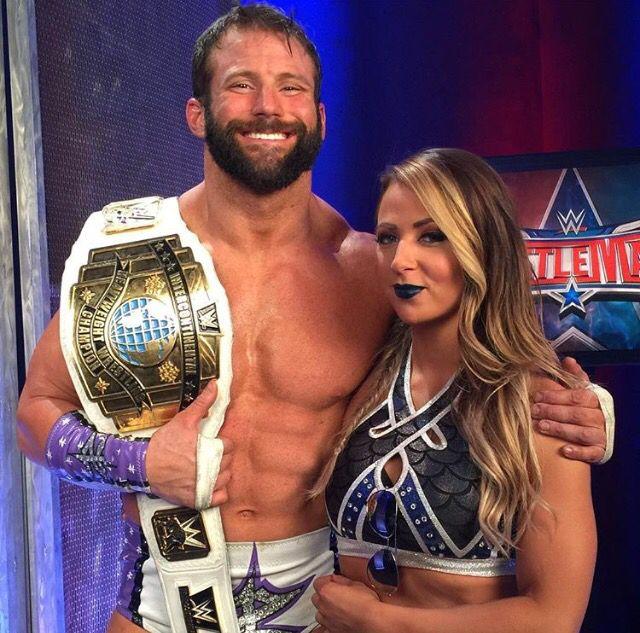 Zack Ryder and Emma #wrestling #babesFromWrestling