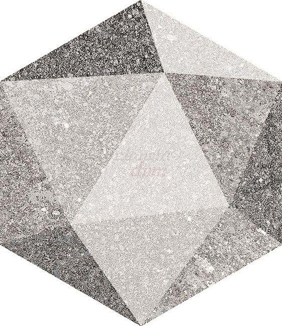 Vives- Aston Hexagono Luton Multicolor 23x26,6 Planeta dom