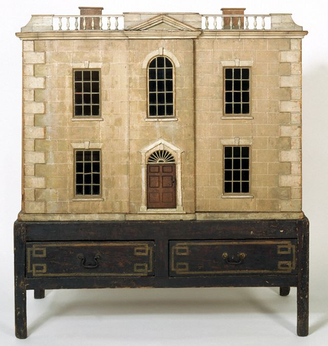 Denton Welch's 18th-century dollhouse now, at the Bethnal Green Museum of Childhood.