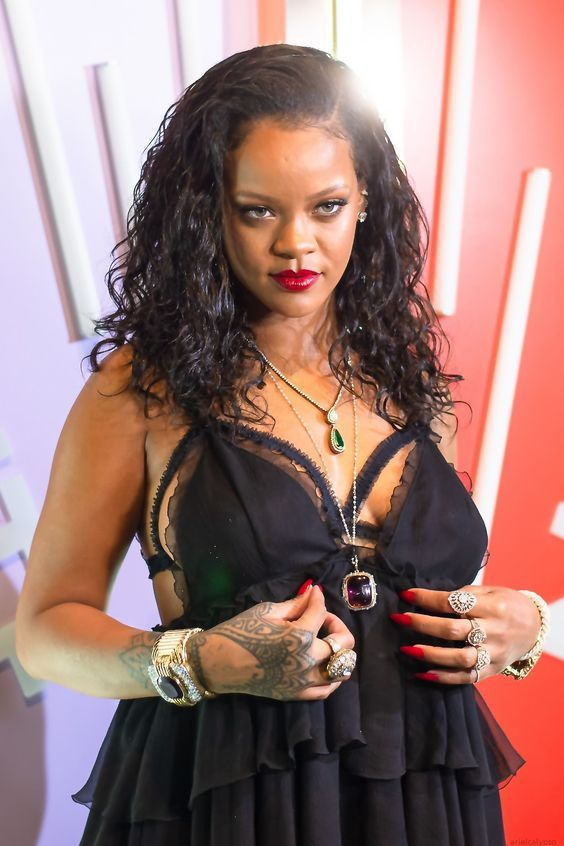 half off 20583 dade3 Rihanna at Savage x Fenty Lingerie Launch in NYC. (10th May ...