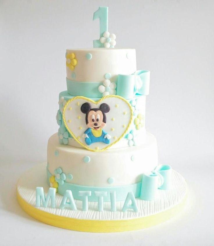 baby topolino - Cake by Mariana