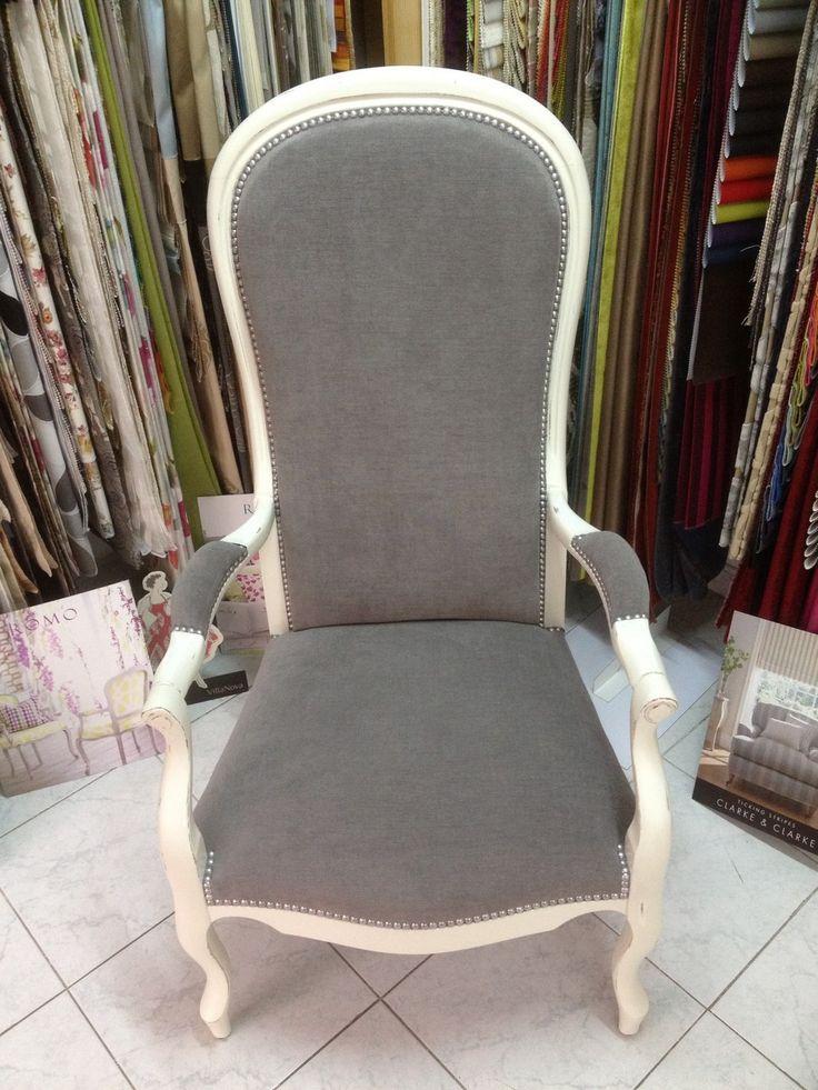 Rénovation fauteuil voltaire Plus