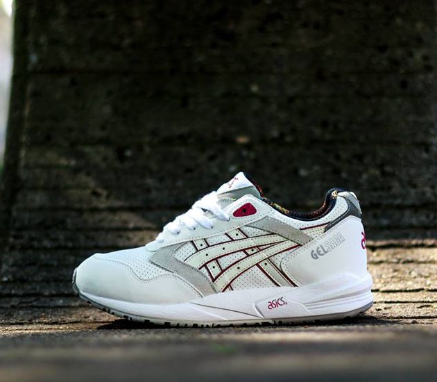 Asics Gel Saga - White / White - Multicolor
