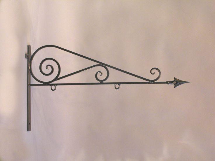 FINN – Veggarm for butikkskilt i smijern 100 cm