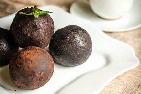 Τρούφες με ρούμι και μπισκότα - ΠΤΙ-ΜΠΕΡ | γλυκές ιστορίες