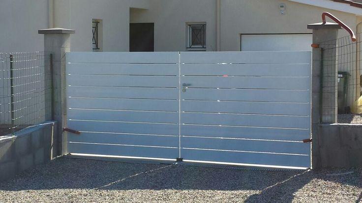 1000 id es sur le th me portail en pvc sur pinterest for Portail pvc electrique