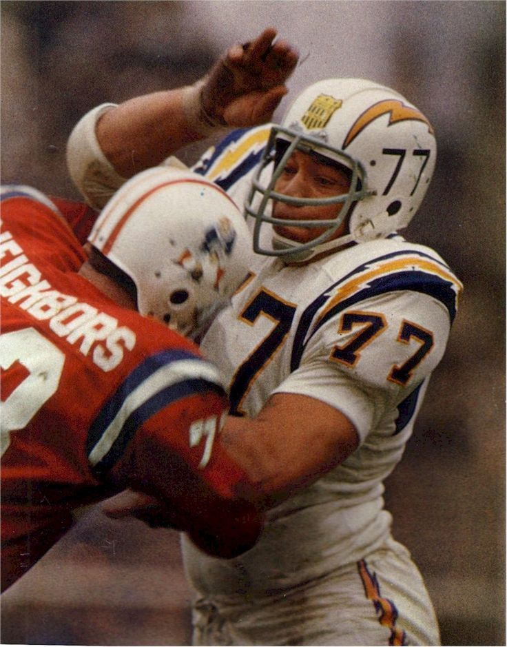 Ernie Ladd San Diego Chargers 196165, Houston Oilers 1966