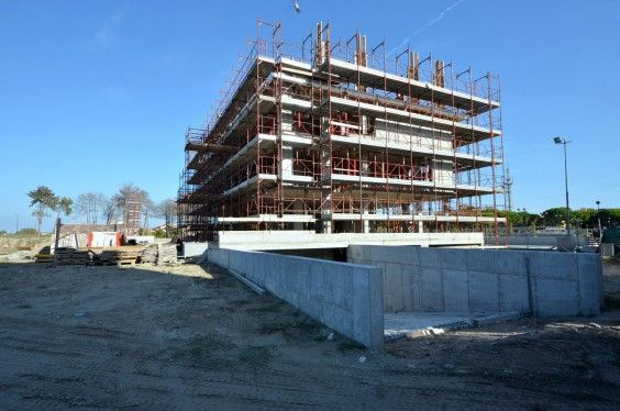 October 2013 - Building A grows! #soleis #realestate #forsale #italy #lignano