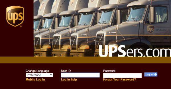 UPS Enterprise Portal Login To Avail Online Services