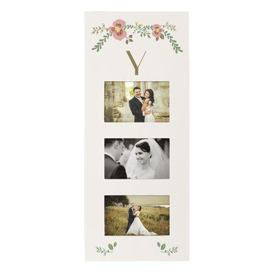 Latitude Run Floral Picture Frame Letter: Y | Floral, Free shipping ...