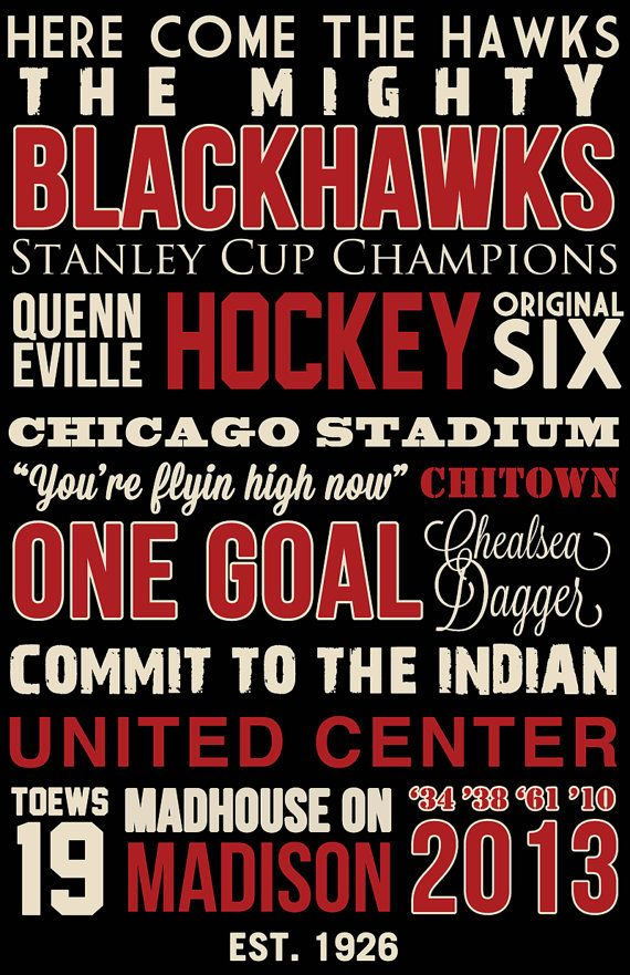 Chicago Blackhawks printing it out and putting it in a frame for Ryan