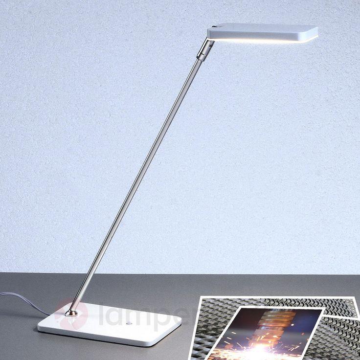 Elegante LED-Schreibtischleuchte Rabea in Weiß