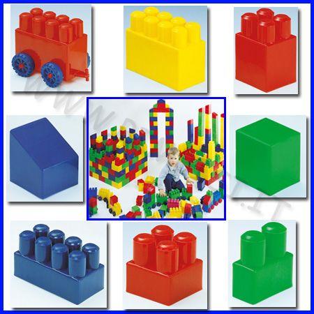 Buildy Toys grandi costruzioni per bambini piccoli made in Italy