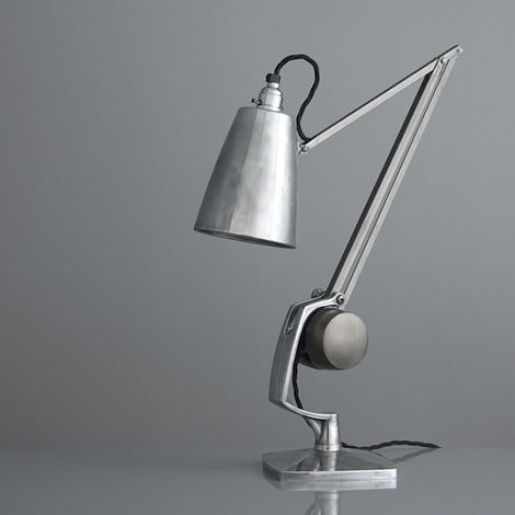 Vintage Horstmann desk lamp - I missed one of these in a junk shop for $10 once....missed it by seconds....life can be a cruel Mistress....K
