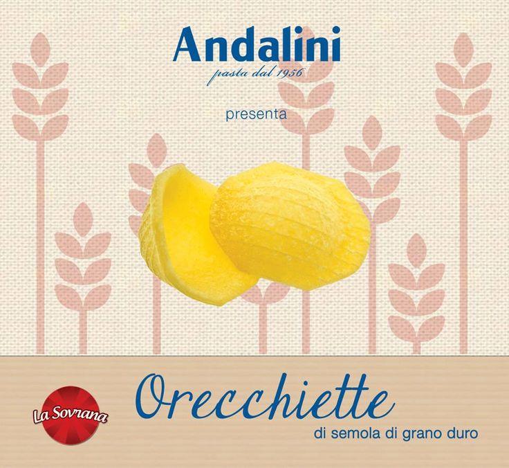 Direttamente dal cuore della Puglia arriva un tripudio di colore, consistenza e sapore... Non fate orecchiette da mercante e correte a provarle! 👂😉http://www.andalini.it/it/prodotti/la-sovrana_48c14.html?id_prod=184