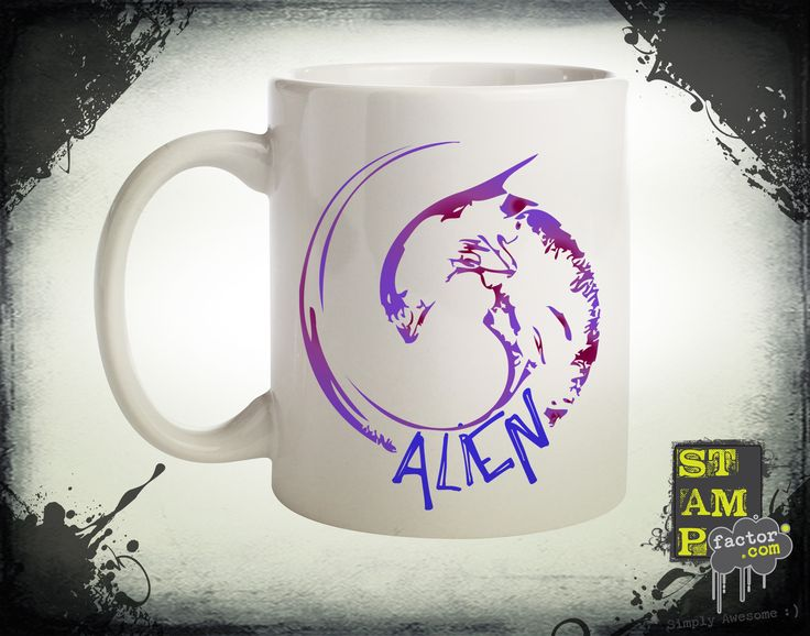 Alien (Version 05) 2014 Collection - © stampfactor.com *MUG PREVIEW*