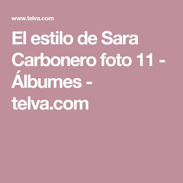 El estilo de Sara Carbonero foto 11 - Álbumes - telva.com