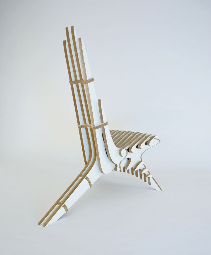 Peak Lounge Chair by Peter Qvist Lorentsen