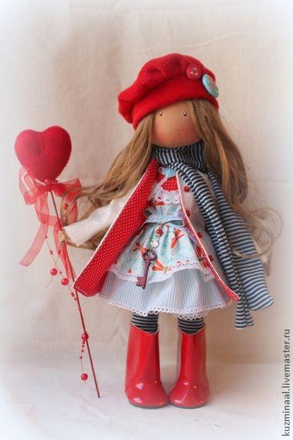 Men handmade.  Fair Masters - Textile handmade doll BRENDA.