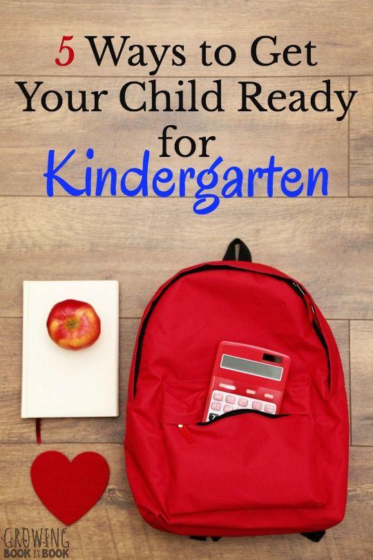 how to prepare child for kindergarten ontario