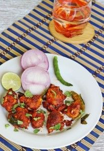 Chicken 65 recipe, Learn how to make chicken 65 at home with step by step photos. Hot, spicy and a perfect chicken starter made in restaurant style