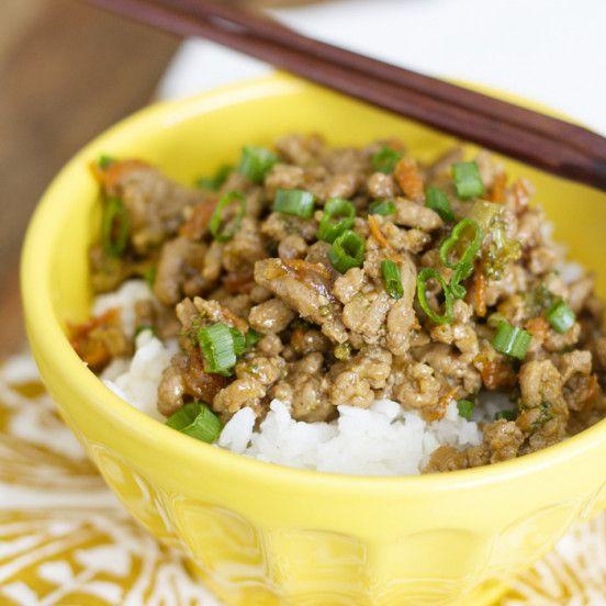 Teriyaki Turkey Rice Bowls and lettuce Wraps with Hidden Veggies in the sauce!