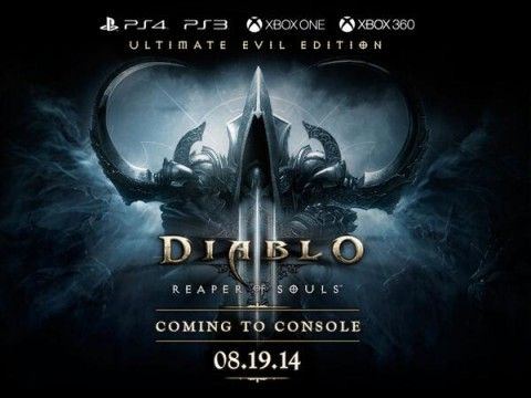 Diablo III Ultimate Evil Edition coming to Xbox 360 and Xbox One