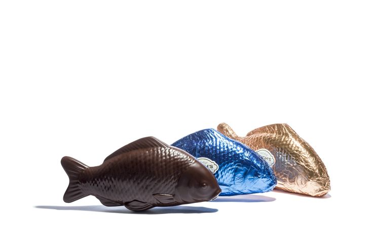Haigh's Chocolates Easter 2016. Large Dark Chocolate Fish