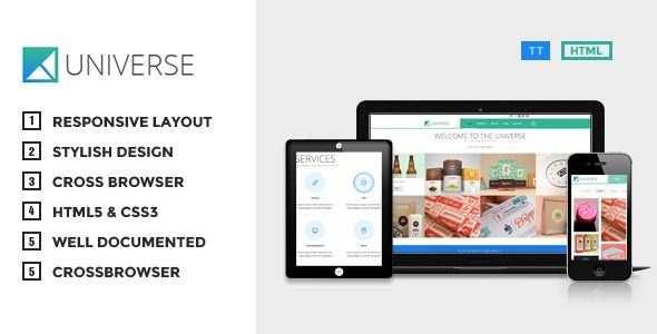 Universe - Responsive Multi-Purpose HTML Theme