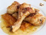 Receta de pollo con salsa de mango y soja