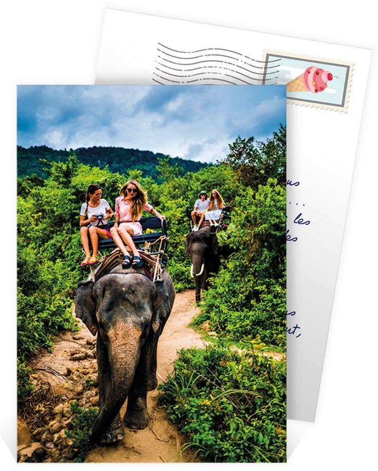 Comment faire ses propres cartes postales ?