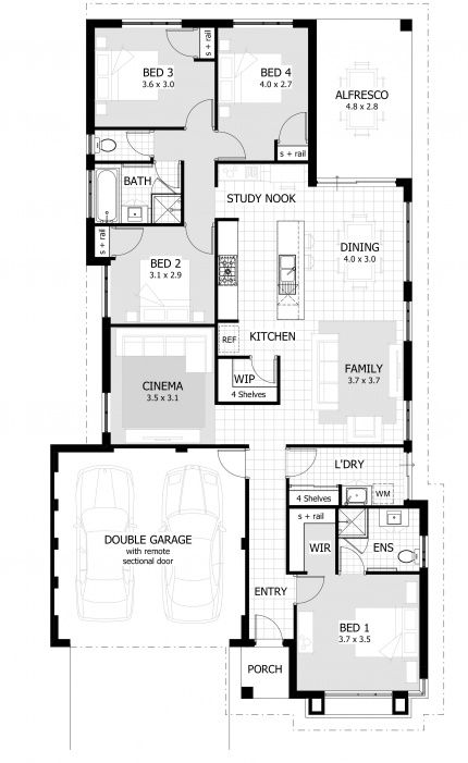 Lakewood Floor Plan
